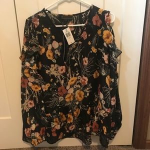 6e0f8644da302f i jeans by Buffalo Tops - I Jeans By Buffalo By JCP Cold Shoulder Top